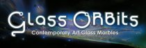 Glass ORBits - Contemporary Art Glass Marbles