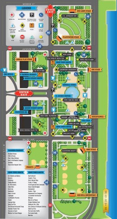 Lolla Map