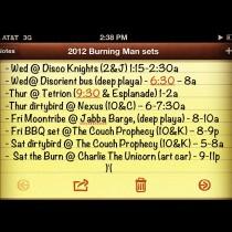 Christian Martin // Burning Man 2012