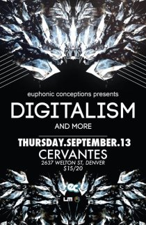 Digitalism // Cervantes // 2637 Welton St.; Denver, Colorado // Thursday, September 13, 2012