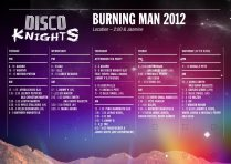Disco Knights (2//J) // Burning Man 2012