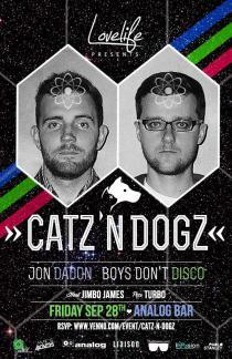 Catz N' Dogz - Analog Bar - Friday, September 28, 2012
