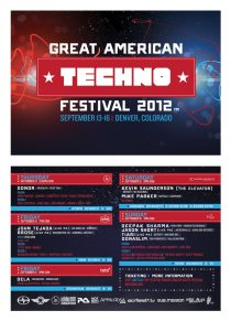 Great American Techno Festival (GATF) 2012