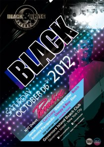 Black and White Party // Saturday, October 6, 2012