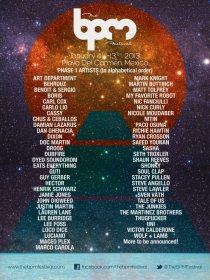 BPM Festival 2013 // Phase 1 Lineup