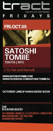 LifeMusicFun.com (Denver): Satoshi Tomiie // Bar Standard // Friday, October 5, 2012