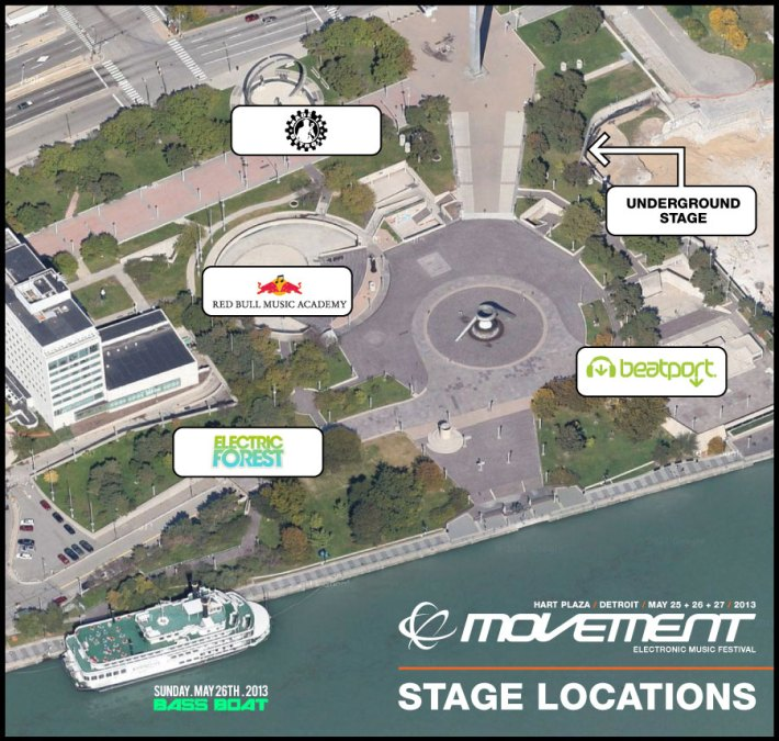 Movement 2013 Venue Map