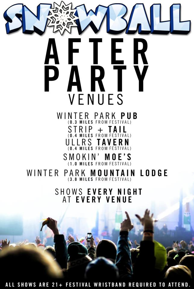 After Party Venues