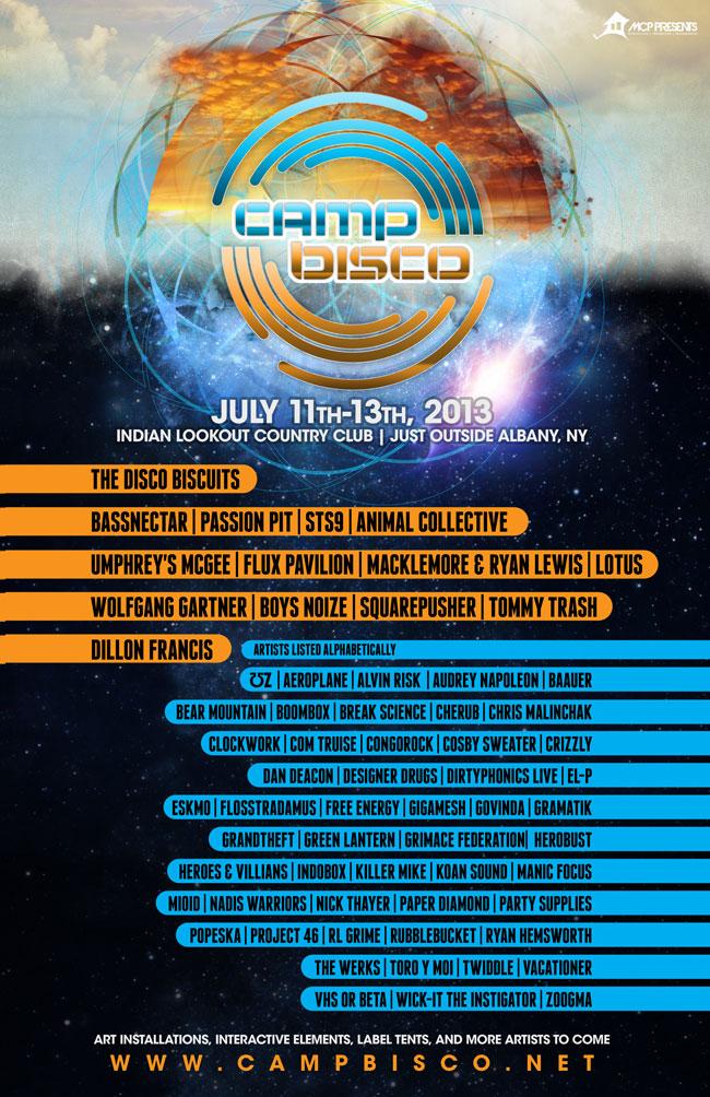 Camp Bisco 2013