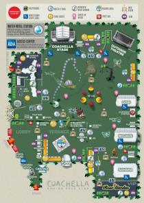 Coachella 2013 - Venue Map