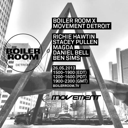 Boiler Room Movement 2013