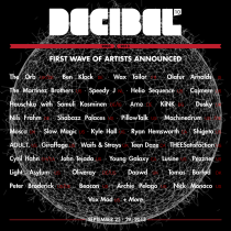 Decibel Festival (dB) 2013 | Seattle, Washington | September 25-30, 2013