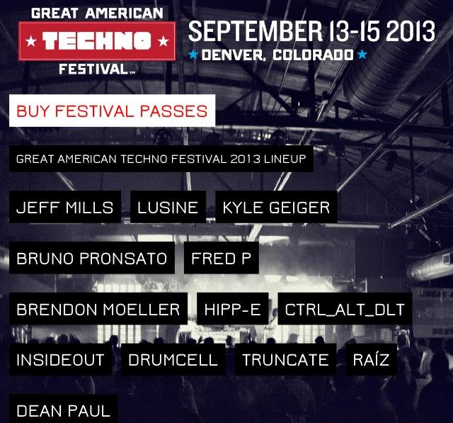 GATF 2013 Lineup