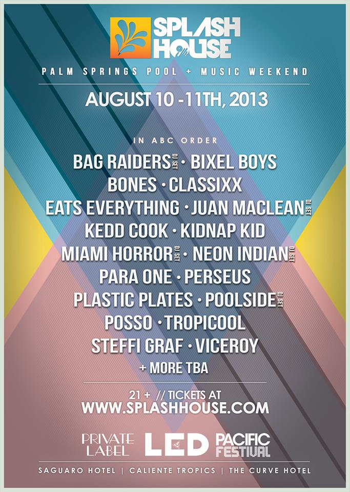 Splash House 2013