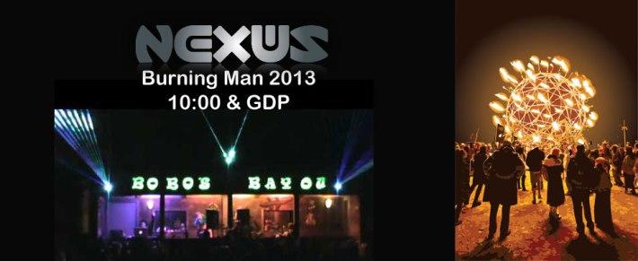 Nexus Burning Man 2013 Lineup