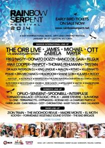 Rainbow Serpent Festival 2014