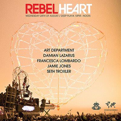 Rebel Heart / Robot Heart Wednesday Burning Man 2013 Lineup!