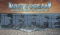 White Ocean Burning Man 2013 Lineup