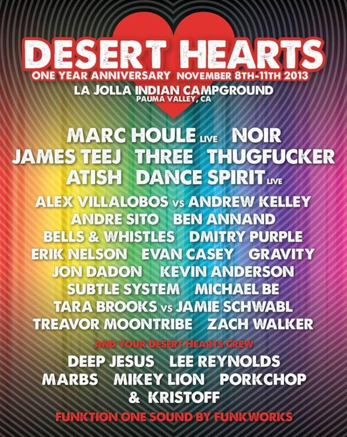 Desert Hearts 1 Year