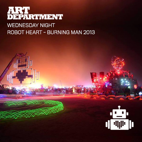 Art Department | Robot Heart Burning Man 2013