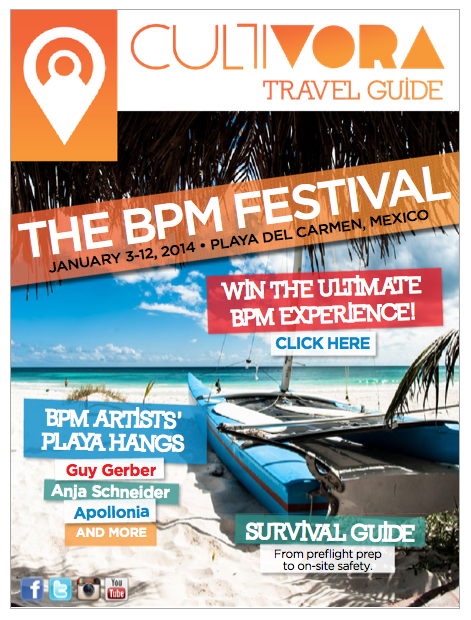 BPM Festival 2014 Official Guide Cultivora