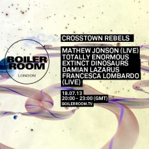 Crosstown Rebels Boiler Room