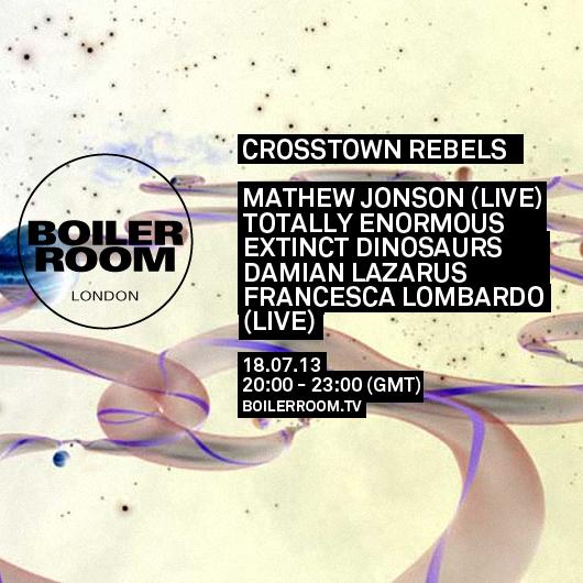 Crosstown Rebels Boiler Room