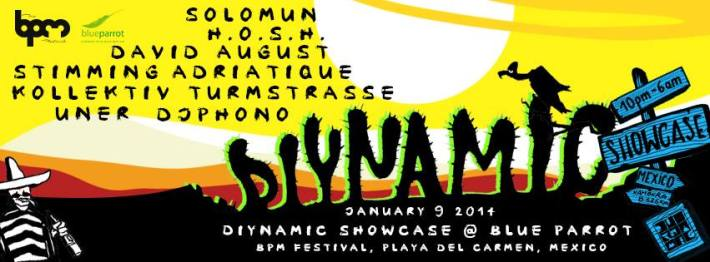 Diynamic Showcase BPM 2014