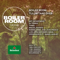 Art Department Boiler Room Live Tulum