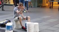 Badass Street Drummer