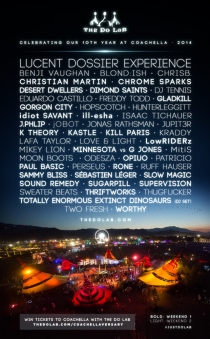 Do Lab Coachella 2014 Lineup Lucent Dossier