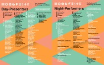 Moogfest 2014 Day and Night Programs