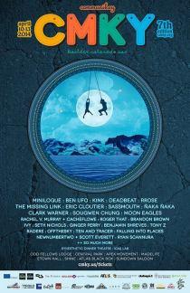 Communikey Festival 2014 Lineup Poster CMKY 2014