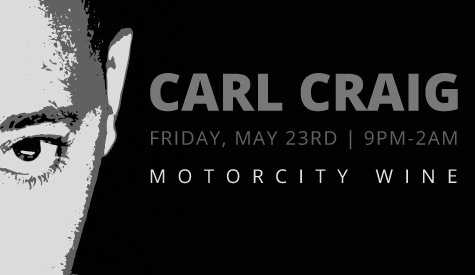 An Intimate Evening with Carl Craig Movement After Party MotorCity Wine Detroit Institute of Arts Benefit