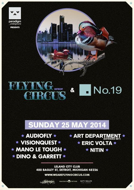 Flying Circus No. 19 Detroit 2014 City Club