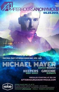Michael Mayer AA Full Flyer