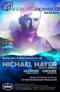 Michael Mayer AA Full Flyer