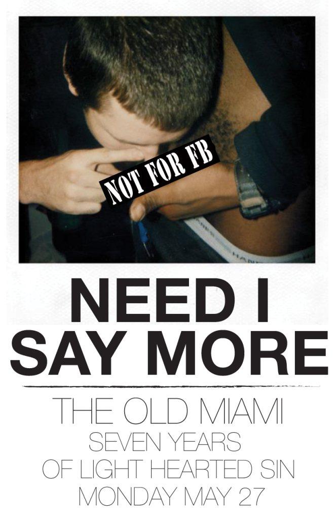 Old Miami Need I Say More Detroit 2014