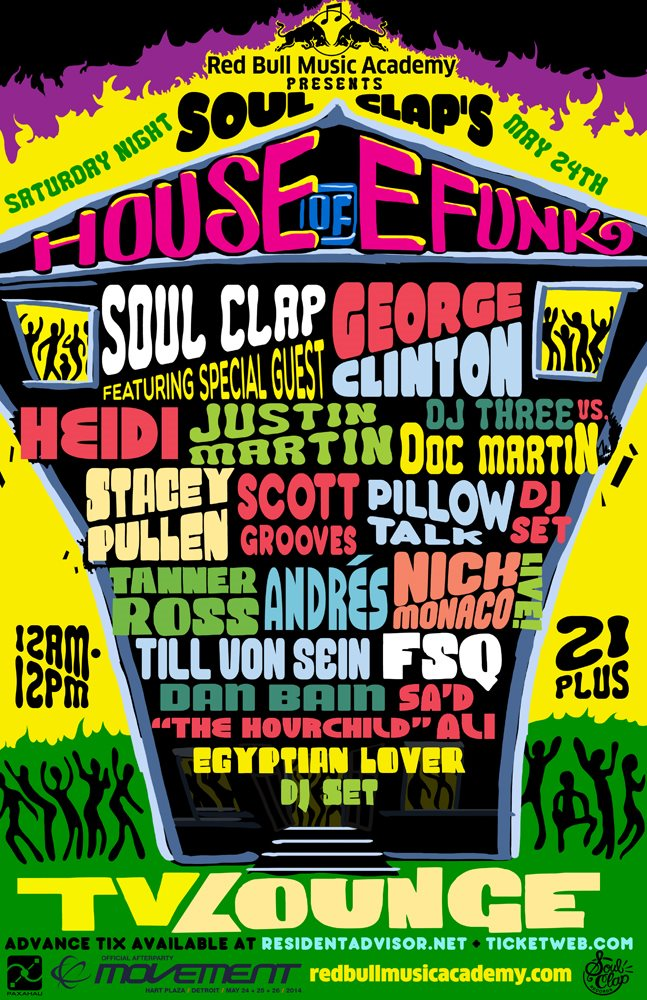 Soul Clap House of E Funk TV Lounge 2014 Crew Love