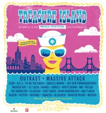 Treasure Island SF 2014 Massive Attack Outkast