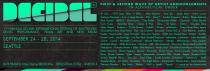 Decibel Festival 2014 Lineup Poster - Facebook Cover