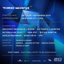 Time Warp USA 2014 Lineup Announcment