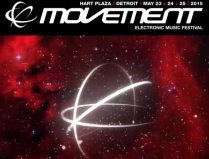 Movement 2015 | Hart Plaza | Detroit | May 23 24 25 Flyer