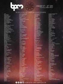 BPM Festival Lineup 2015 Phase 2