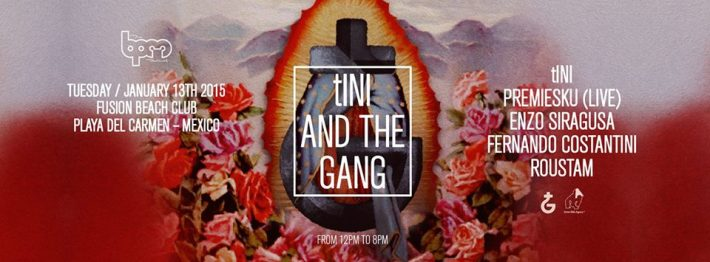 JAN 13 TUE DAY | BPM Festival 2015 | tINI AND THE GANG | Fusion | Noon-Close