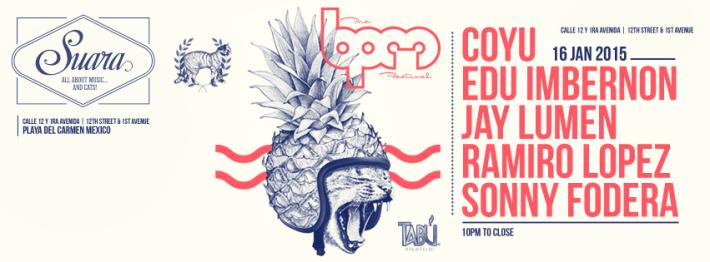 JAN 16 FRI NIGHT | BPM Festival 2015 | Suara | Tabu | 10pm-Close