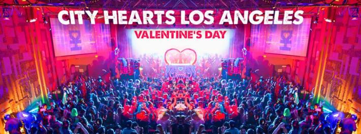 City Hearts Los Angeles LA Valentine's Day Desert Hearts