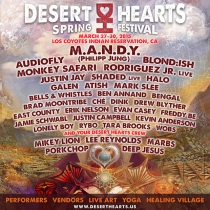 Desert Hearts Spring Festival Los Coyotes March 2015