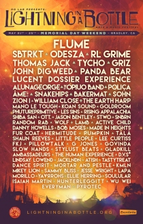 LIB Lightning in a Bottle 2015 Lineup Poster