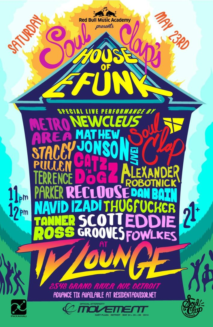 SAT MAY 23 | SOUL CLAP'S HOUSE OF EFUNK | TV LOUNGE